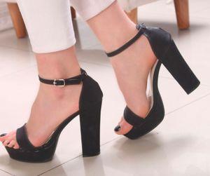 Pumps Peep Toes High Heels - Black #highheelspumps