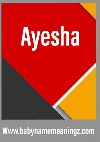List of attractive ayesha name ideas and photos | Thpix