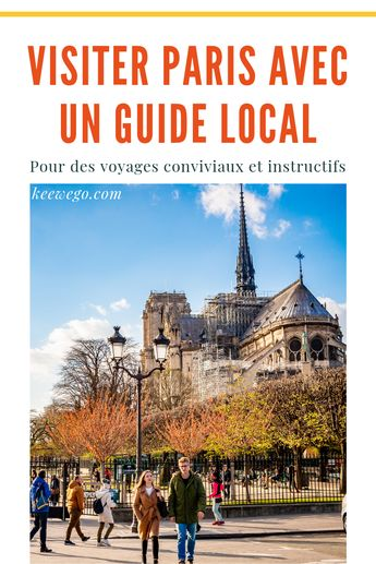 Visiter Paris à votre rythme grâce à un guide local sélectionné. Culture et convivialité sont au rendez-vous lors de visites guidées privées, pour 2 à 6 personnes, pour vous permettre d'échanger plus librement avec le guide. Choisissez la date et l'horaire voulu, le guide est disponible quand vous l'êtes. Retrouvez les informations sur les lieux touristiques de Paris. Organisez votre visite de Paris avec Keewego.com #France #Paris #Travel