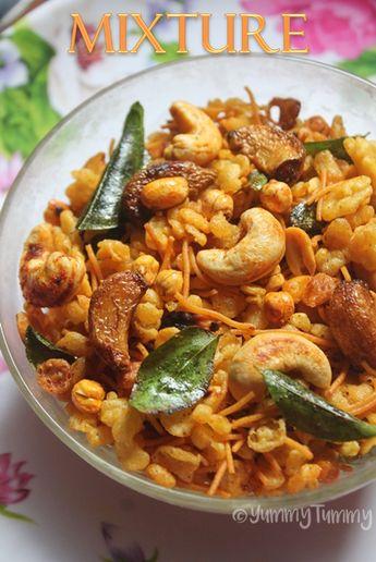 Mixture Recipe - South Indian Mixture Recipe
