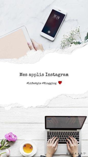 Mes applications ont-elles changées ? Je vous dévoile les nouvelles applis que j'utilise pour Instagram !