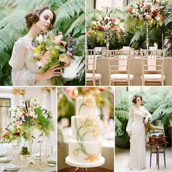 'Belle Epoque' Romantic Vintage Wedding Inspiration in Paris