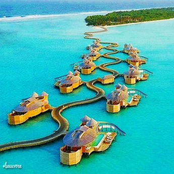 Soneva Jani Resort, Maldives. Like and comment if you want this! ➡️ @luxuvore for more! #luxuvore