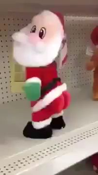 Hilarious Christmas Twerking Santa Gift