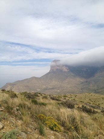 El Capitan in its glory, Guadalupe Mountain National Park, Texas