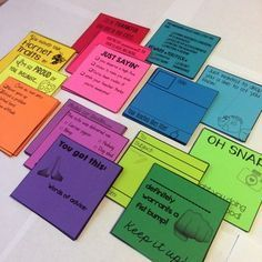 Positive Notes: Teacher to Student
