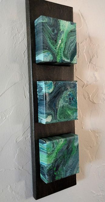 Original Abstract Acrylic Wall Art