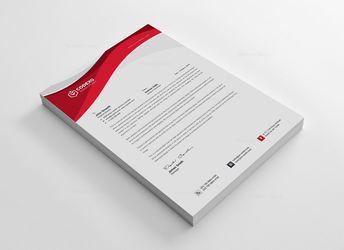 Creative Letterhead Template - Graphic Templates