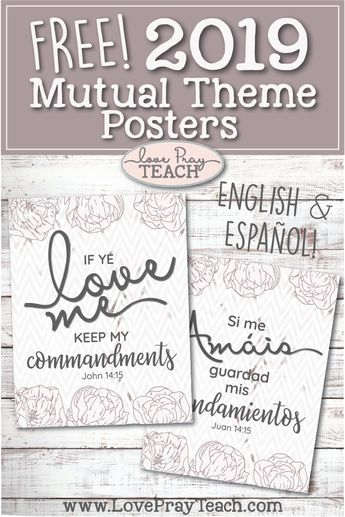 2019 Mutual Theme Prints, Handouts, and