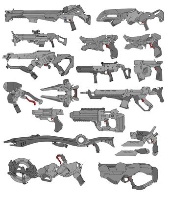 Star Wars Gun Collection By Holly Exley