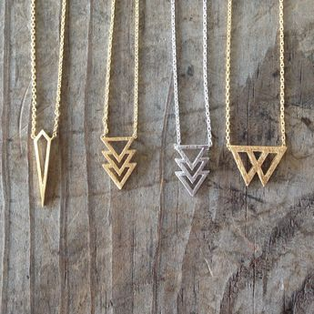 New dainty necklaces are up in the shop! They go quick so if you want one grab one || #saintevejewelry