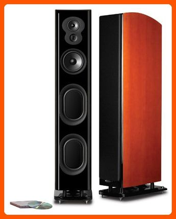 Polk Audio LSiM 705 Floorstanding Speaker (Mt. Vernon Cherry, Each) - Fun stuff and gift ideas (*Amazon Partner-Link)