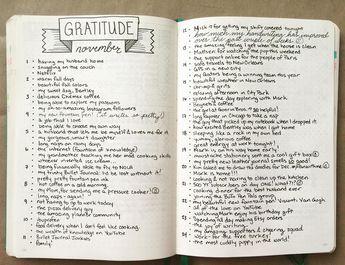 Reverse Bucket List - An Exercise in Gratitude