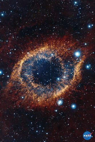 HELIX NEBULA POSTER Space Astrology NASA RARE HOT NEW 24x36