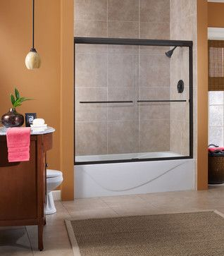 Cove Shower Doors - contemporary - showers - FOREMOST GROUPS