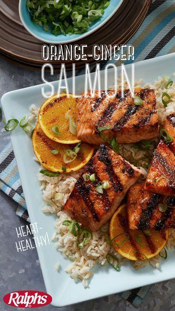 Orange-Ginger Salmon