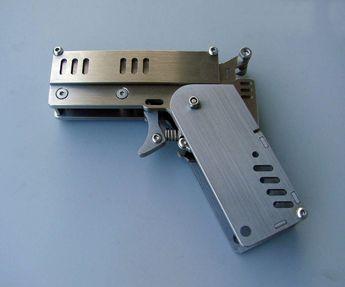 Mini Matchstick Revolver