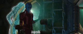 Nebula fanart Avengers Endgame