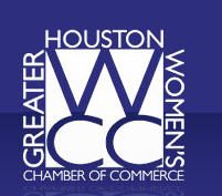 Empowering Women to Reach New Heights.    The Greater Houston Women's Chamber of Commerce is a nonprofit business organization of highly influential and diverse women and men dedicated to the advancement and empowerment of women through avenues of leadership, education, advocacy and mentoring.