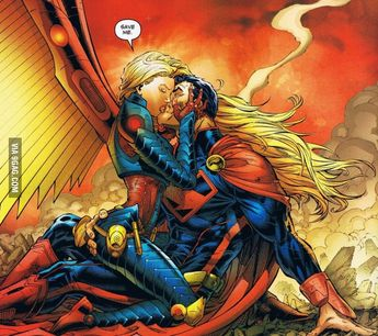 WTF... need a captain here... because that's supergirl...