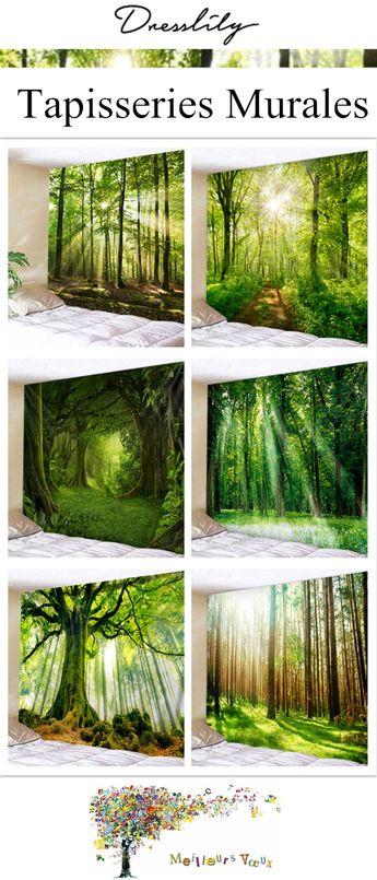 Faites le plein d'inspirations pour une décoration de votre maison afin que la maison prenne un air sympathique! #dresslily #decor #maison #foret