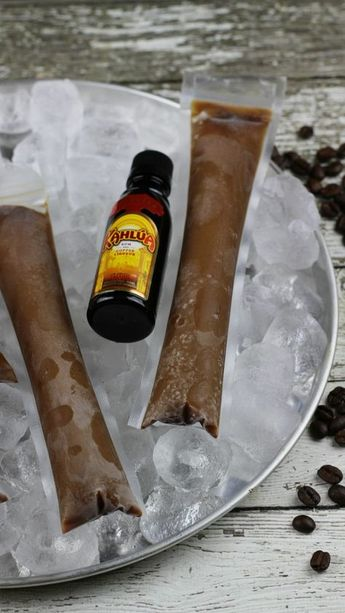 Kahlua Coffee Ice Pops