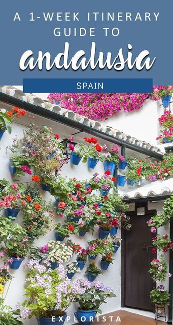 My one week road trip itinerary for Andalusia