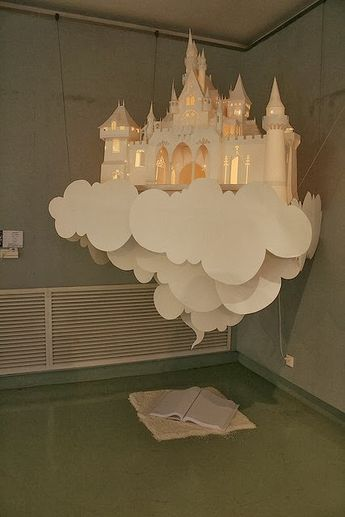 The Best DIY and Decor Place For You: Amazing paper art castle