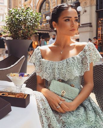 "Loving Haute Couture on Instagram: ""Choose @dilettamenta Best Look: 1, 2, 3 or 4? 💚"""