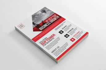 Alberta Creative Business Flyer Design Template - Graphic Templates