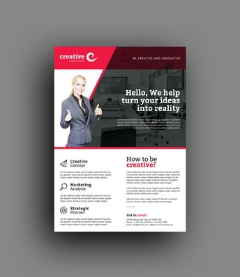 Oklahoma Professional Business Flyer Template - Graphic Templates