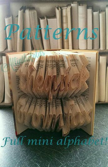 Home Sweet Home Cut And Fold Book Folding Pattern