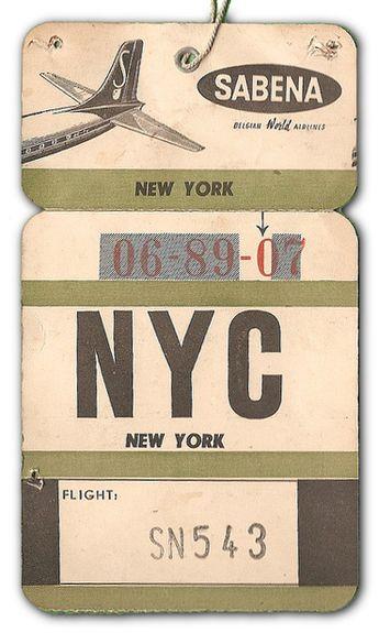 Sabena - NYC New York City