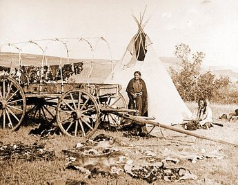 Native American Indian Camp