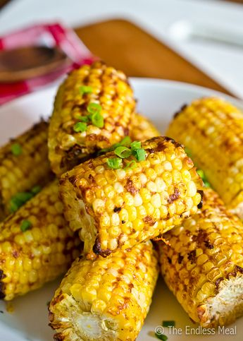 Smoky Parmesan Corn on the Cob