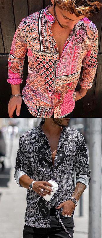 Yatacity Hot Sale Summer Floral Shirts Collection For Man #Shirt #MenStlye #Menswear