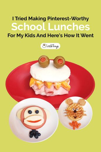 I Tried Making Pinterest-Worthy School Lunches For My Kids And They Were Adorably Appetizing
