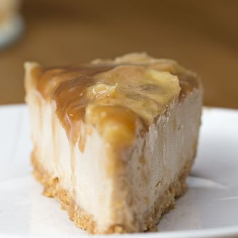 This Caramelized Banana Peanut Butter Cheesecake Will Make Your Belly So Damn Happy