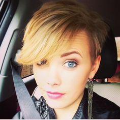 21 Lovely Pixie Cuts with Bangs