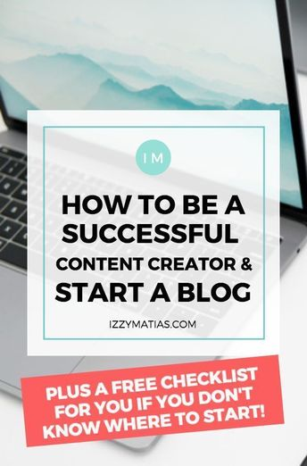 How to Create a Blog and Become a Successful Content Creator 2019