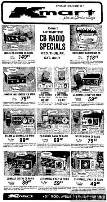 Do you remember the big CB radio craze in the mid 1970s?