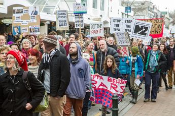 New Zealand: nationwide actions protest controversial Trans-Pacific Partnership