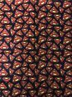 FREE SHIPPING New DC Comics Superman Symbols Flannel Fabric 1 Yard #Craft