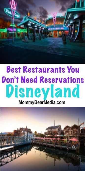 Best Disneyland Restaurants You Do Not Need Reservations For
