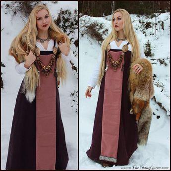 Winter Viking  (Hand stitched viking garb by she⌛️)