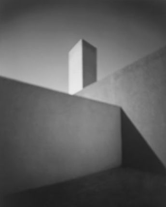 HIROSHI SUGIMOTO (B. 1948)  Barragan House, 2000-2001  gelatin silver print  number '1/25 980' blindstamp (in the margin); signed in pencil (on the mount) 22 7/8 x 18 3/8in. (58.4 x 46.8cm.) #photographyonthemargins