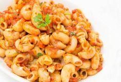 Vegetable Macaroni (Indian Style)