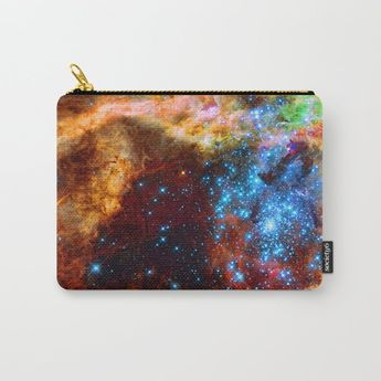 Stellar Nursery in Tarantula Nebula Carry-All Pouch by hightonridley #Carry-AllPouch #gifts #society6 #decor #hightonridley