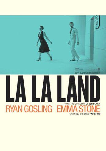 La La Land Poster 24x36 La La Land Movie Poster