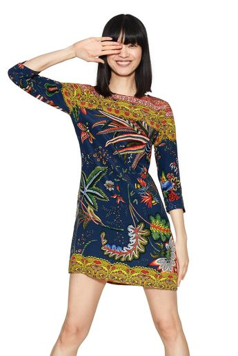e716ab1c0 Desigual CRUDO dress designed by Christian Lacroix. Spring-Summer 2018  collection.